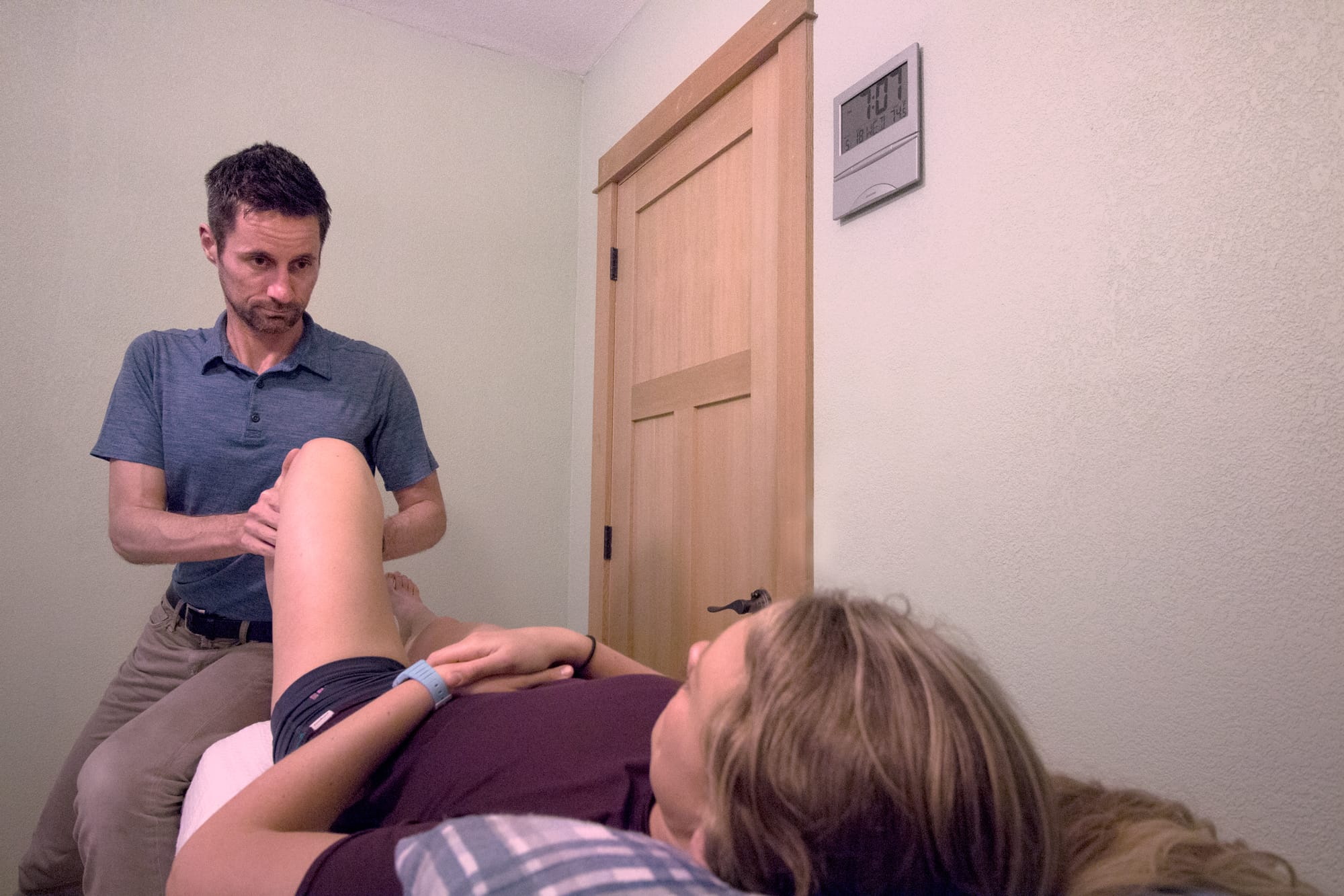 Lower back physical therapy by Joe Uhan